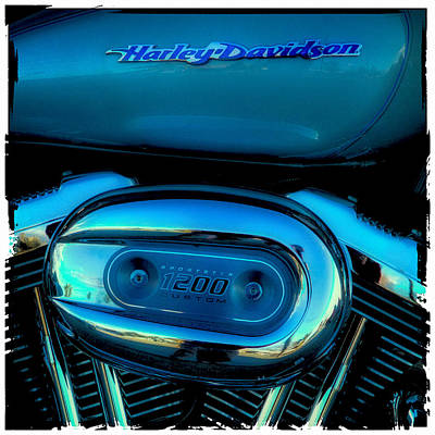 Sportster Photograph - Harley Sportster 1200 by David Patterson