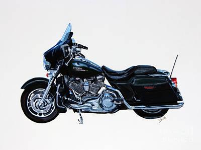 Harley Davidson Street Glide Original by Janet Felts