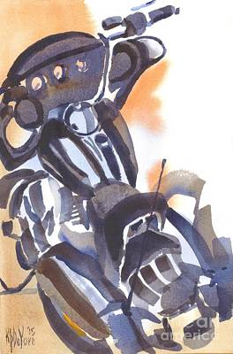 Painting - Motorcycle Iv by Kip DeVore