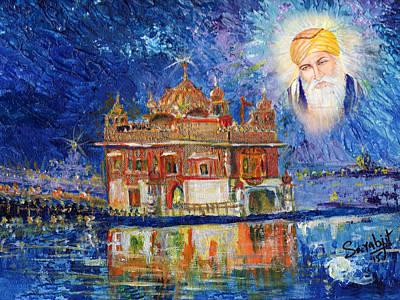 Harmandir Sahib Art Print