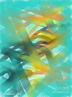 Painting - Harmonization by Frances Ku