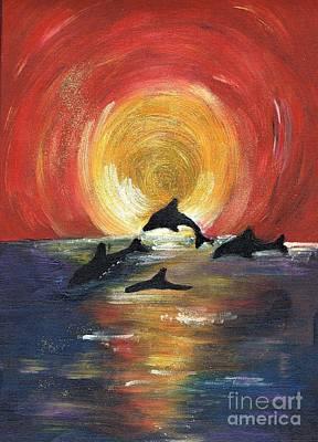 Painting - Harmony 2 by Karen Jane Jones
