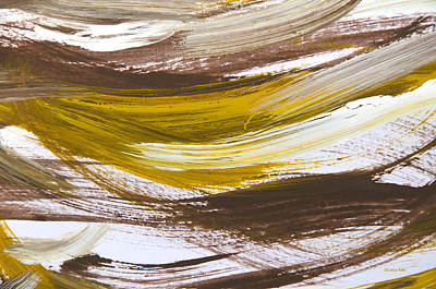 Painting - Harmony Abstract Painting by Christina Rollo