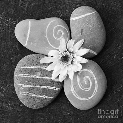 Stones Mixed Media - Harmony And Peace by Linda Woods