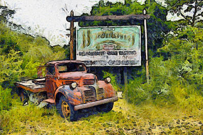 Photograph - Harmony California Highway Sign by Floyd Snyder