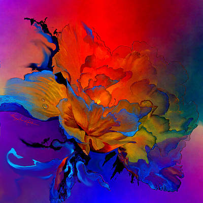Abstract Digital Painting - Harmony by Hanne Lore Koehler