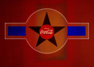 Cola Painting - Harmony In Red by Charles Stuart