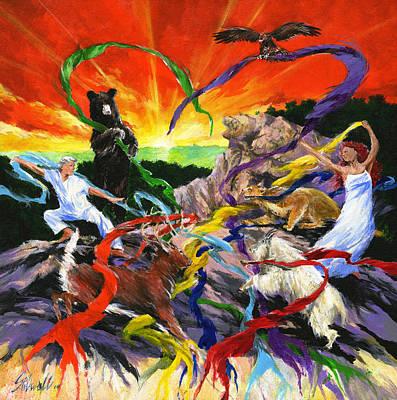 Wall Art - Painting - Harmony by Jim Stilwell