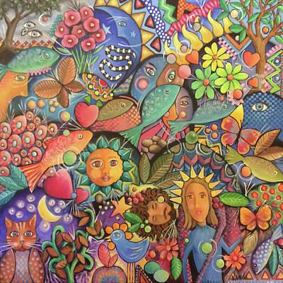 Painting - Harmony by Lindi Levison