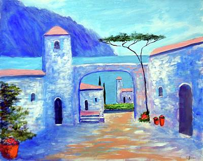 Painting - Harmony Of Como by Larry Cirigliano