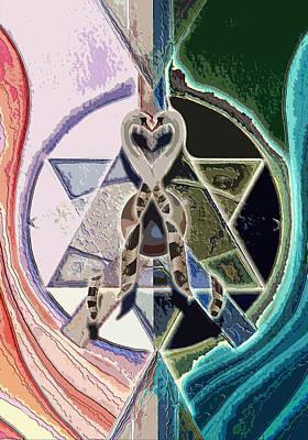 Harmony Of Duality Art Print by Saarah Esther Felix
