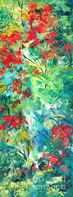 Painting - Harmony Of Forest-2 by Betty Rubinstein