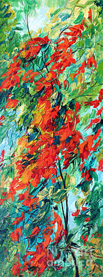 Painting - Harmony Of Forest-4 by Betty Rubinstein