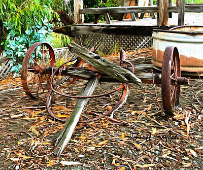 Photograph - Harmony Rusty Relics by Floyd Snyder