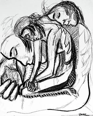 Harmony  Study For The Emancipation Of A Woman Art Print by Robert Yaeger