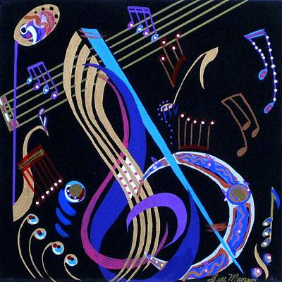 Painting - Harmony Vi by Bill Manson