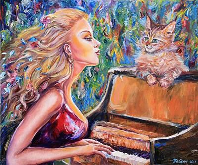 Painting - Harmony  by Yelena Rubin