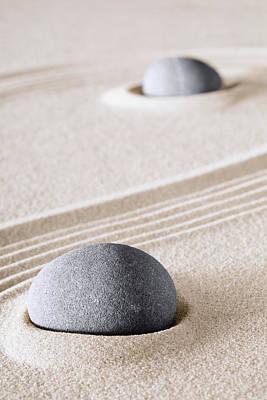 Photograph - Harmony Zen Background by Dirk Ercken