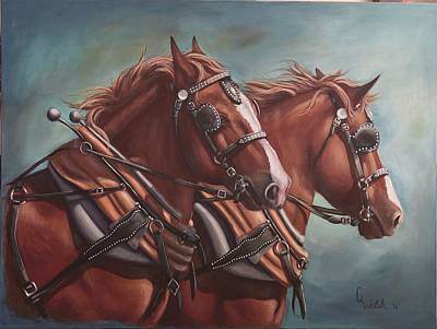 Painting - Harness Power by Cindy Welsh