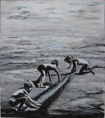 Harnessing The Ocean Art Print by Naomi Gerrard