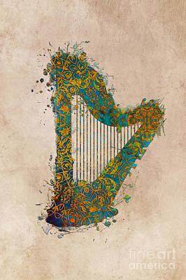 Little Mosters - Harp by Justyna Jaszke JBJart