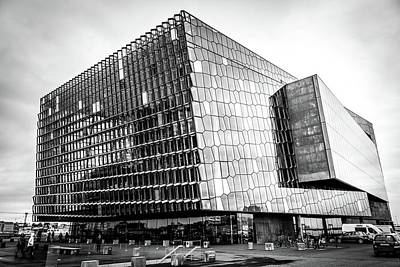 Photograph - Harpa  by Andrew Matwijec