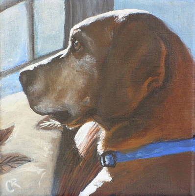 Painting - Harper by Carol Russell