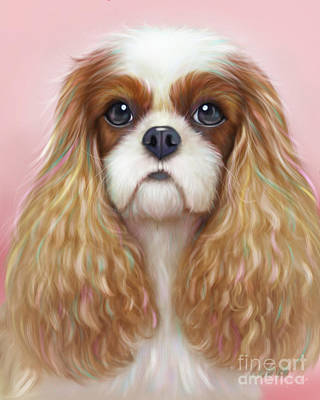 Painting - Harper Cavalier by Catia Lee