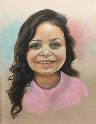 Pastel - Harper Portrait by Robert Korhonen