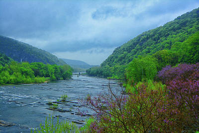 Photograph - Harpers Ferry From The Shenandoah River by Raymond Salani III