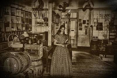 Harpers Ferry General Store Art Print by Bill Cannon