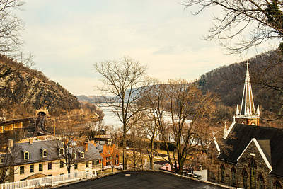 Photograph - Harpers Ferry Rooftops #2 by Dana Sohr