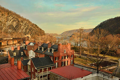 Photograph - Harpers Ferry Rooftops by Dana Sohr