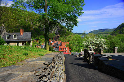 Photograph - Harpers Ferry Section Of The Appalachian Trail by Raymond Salani III