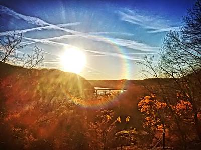 Photograph - Harpers Ferry Sunset by Chris Montcalmo