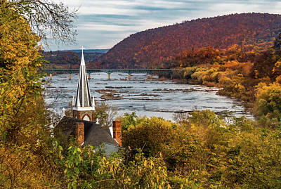 Photograph - Harpers Ferry, West Virginia by Ed Clark