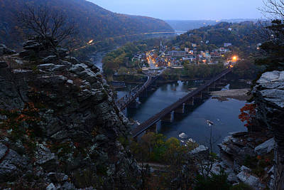 Harpers Ferry Photograph - Harpers Ferry Wv by Bernard Chen