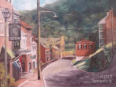 Painting - Harpers Ferry West Va by Patricia Lang