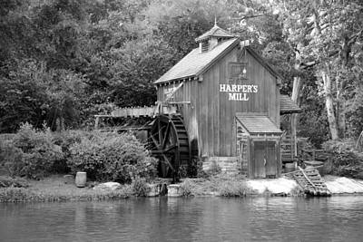 Photograph - Harpers Mill by Rob Hans