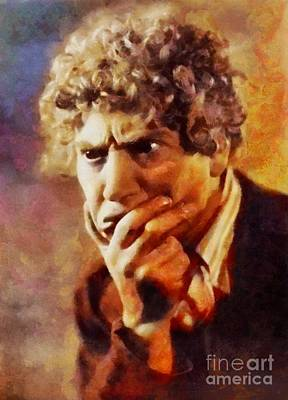Musicians Royalty-Free and Rights-Managed Images - Harpo Marx, Vintage Hollywood Legend by Sarah Kirk
