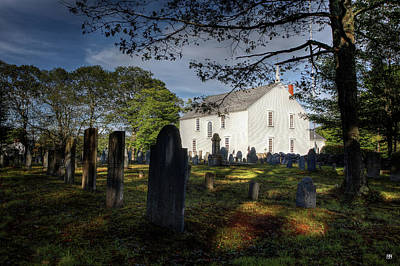 Photograph - Harpswell Meeting House by John Meader
