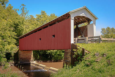 Music Royalty-Free and Rights-Managed Images - Harra Covered Bridge by Jack R Perry