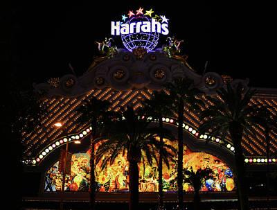 Photograph - Harrahs Las Vegas by David Lee Thompson