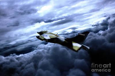 Harrier Gr3 Art Print by J Biggadike