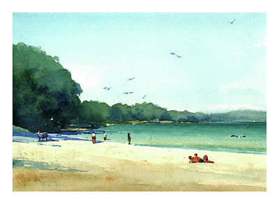 Harrington Beach, Wisconsin Art Print