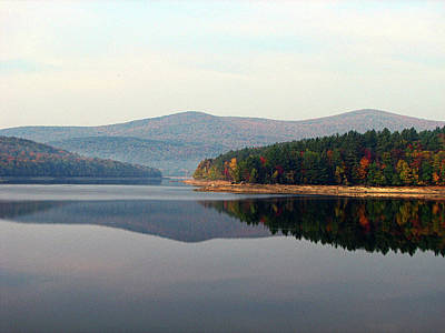 Photograph - Harriman Reservoir by GJ Blackman