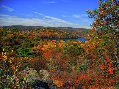 Photograph - Harriman State Park In Autumn by Raymond Salani III