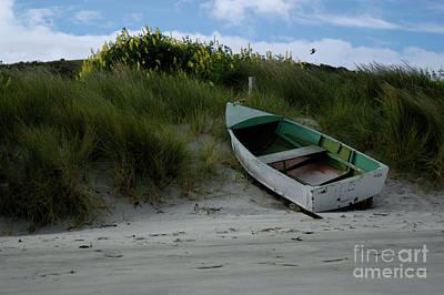 Photograph - Harrington Point Row Boat by Denise Bruchman
