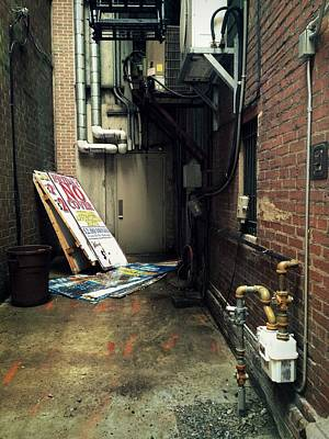Photograph - Harrisburg Alley by Joseph Skompski