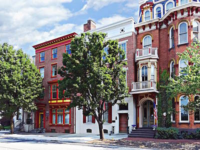 Photograph - Harrisburg Pa - N Front Street by Susan Savad